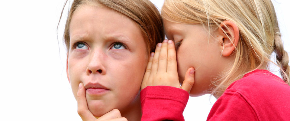 Experienced Consultants provide a listening ear for you, like these two young girls.